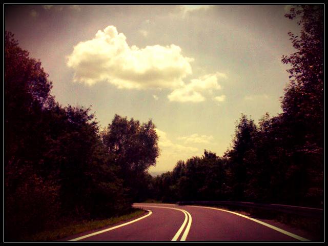 droga bieszczady