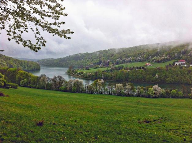 jezioro myczkowieckie i okolice