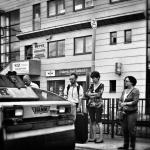 Blake – street foto, przystanek