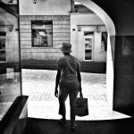 Blake – street foto, podcienia, Rzeszów