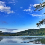 Blake fotografia, rzeka San, Słonne