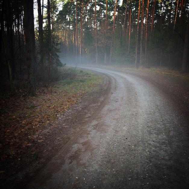 foggy corner