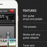 Aplikacje iPhone iOS – AmpKit+ – Guitar amps and effects recording, promo z €19.99 >> free