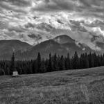 Tatry – widok z Rusinowej polany
