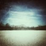 Zimowy krajobraz Bieszczady