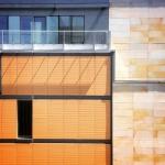 Żółta ściana, architektura Lublin