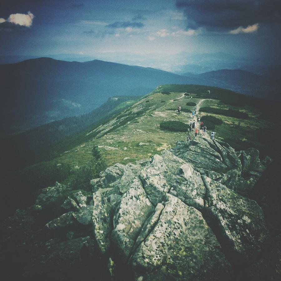 Krajobraz z Babiej Góry