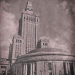 Mobilna fotografia – pałac kultury w Warszawie