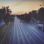 Warszawa, droga do centrum