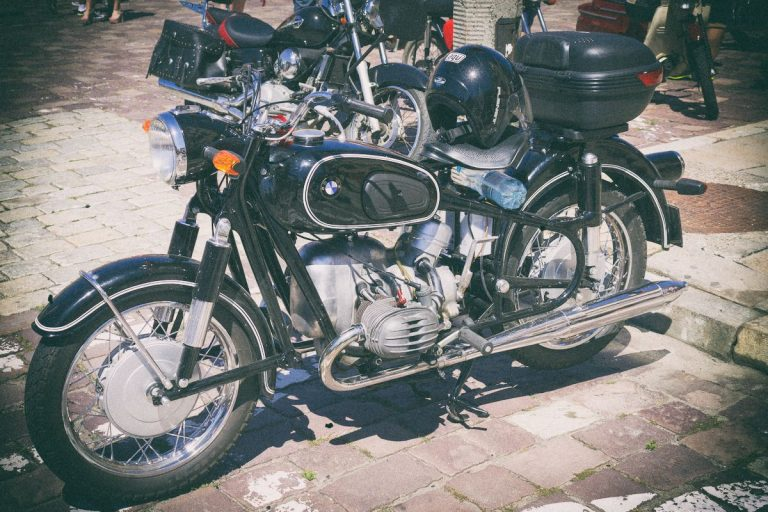Zlot pojazdów zabytkowych Drynda 2017 - motocykle