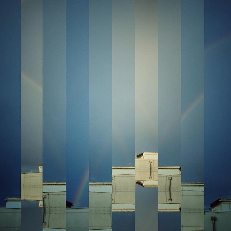 fotografia abstrakcja tęcza