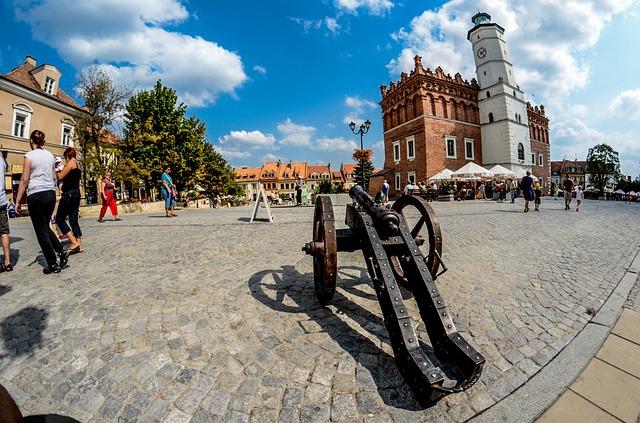 rynek Sandomierz
