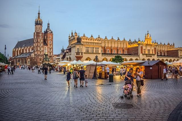zwiedzanie Kraków rynek