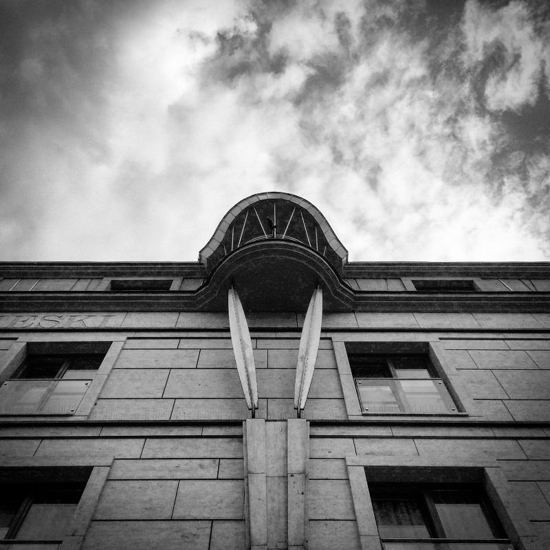balkon w chmurach Kraków
