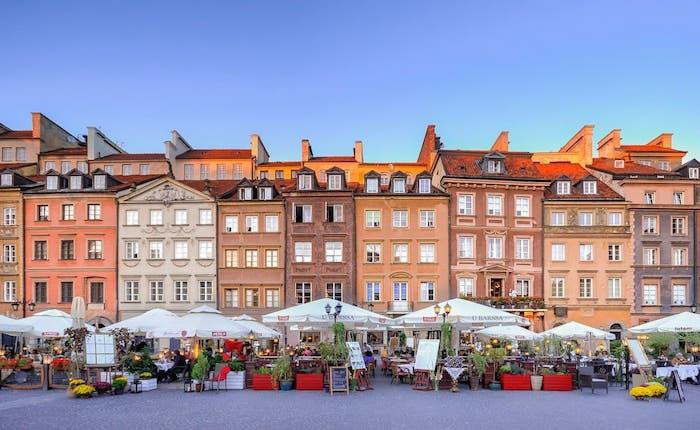 gdzie fotografować w Warszawie