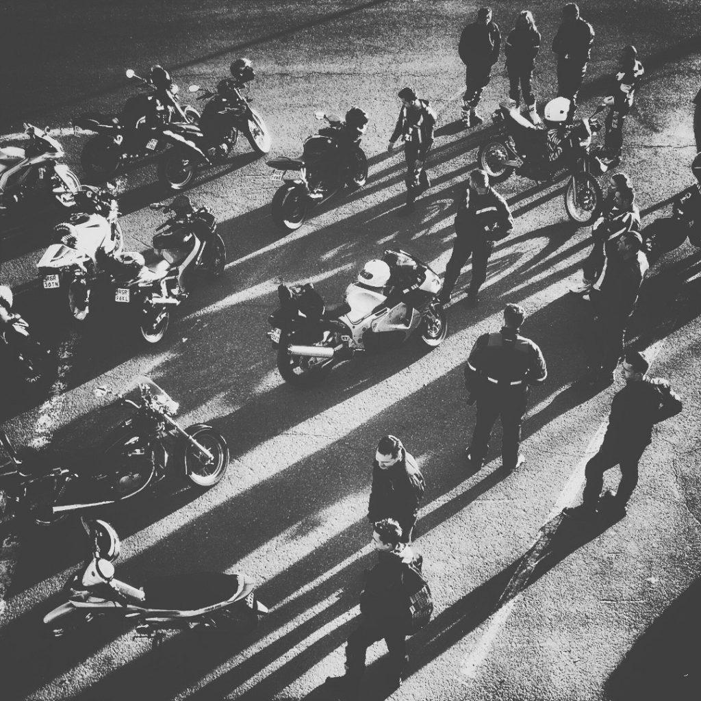 street foto Rzeszów motocykliści