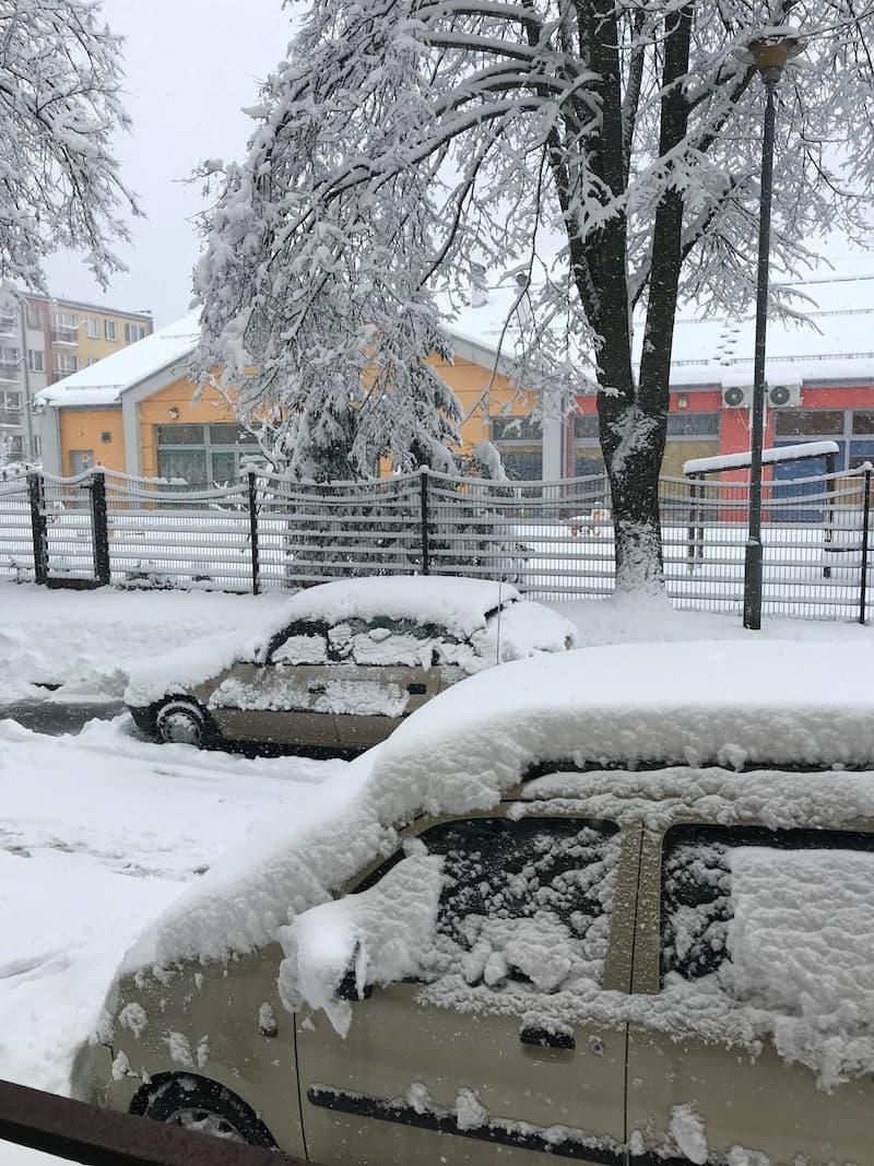 zima Podkarpacie